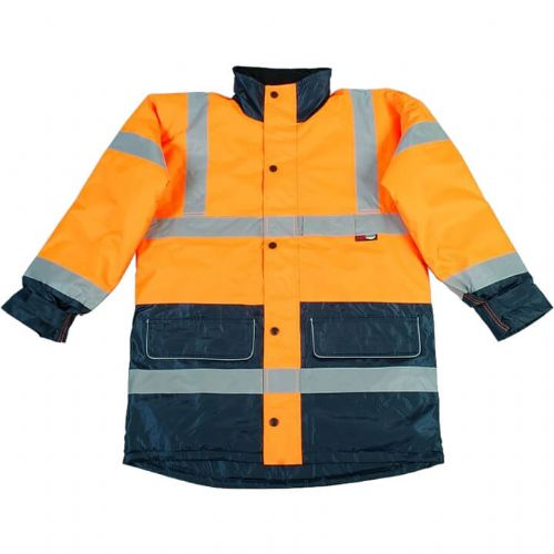 Warrior Denver Hi Vis Orange 2 Tone Jacket
